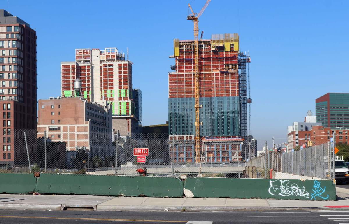 Two Buildings in Pacific Park Development Quickly Rising Next to Barclays Center