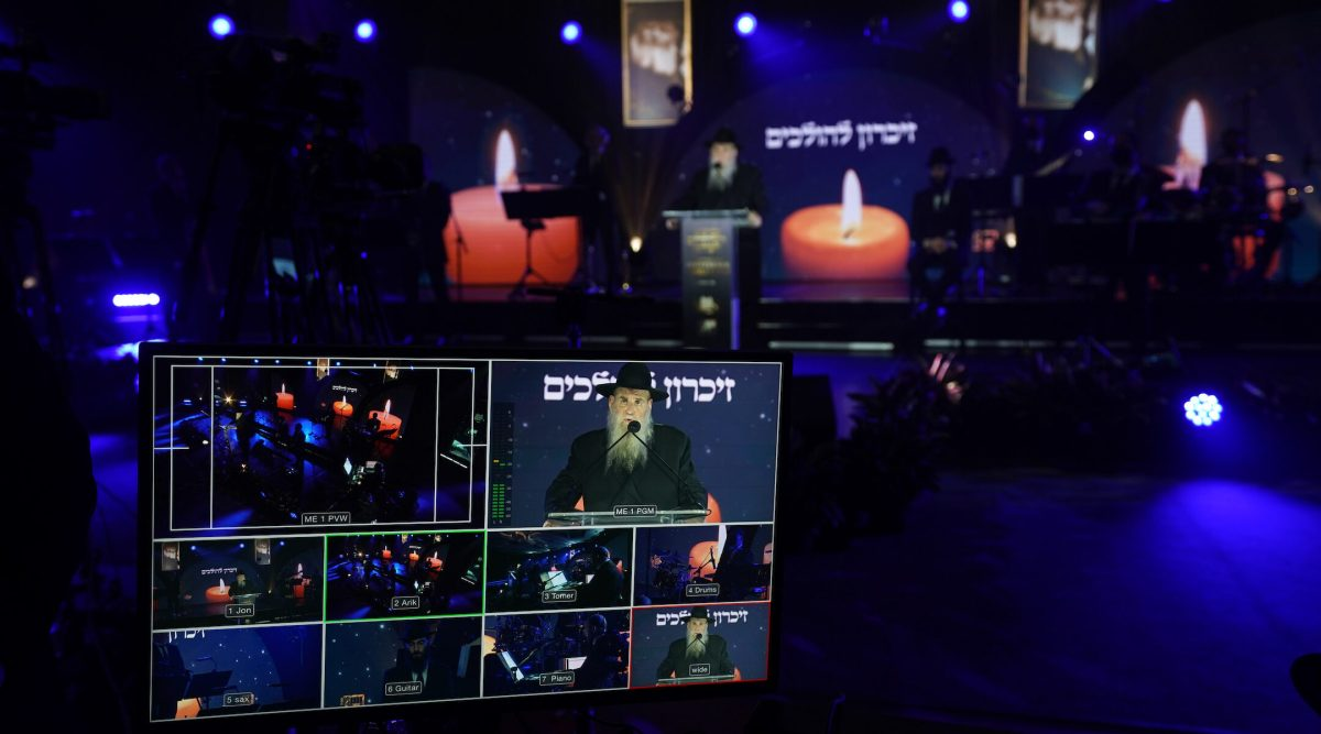 Their annual gathering impossible, Chabad rabbis convene on Zoom — for days and days