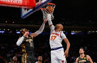 Taj Gibson Q&A: Knicks center on the importance of giving back to his Brooklyn community, activism