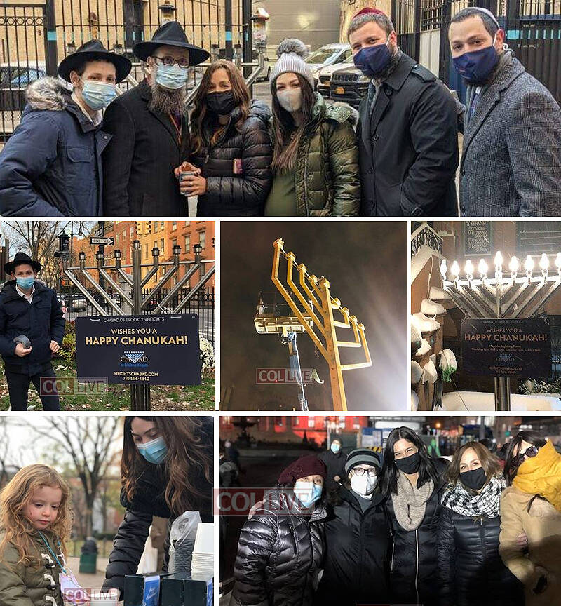 Chabad Worked in Overdrive This Past Month in Downtown Brooklyn