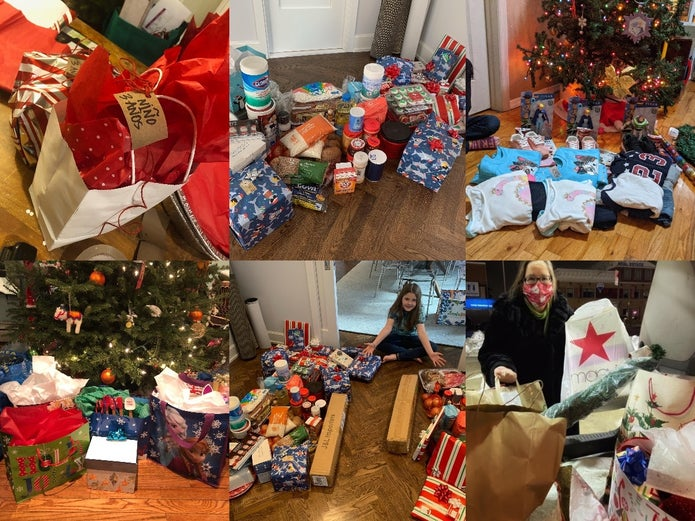 New Yorkers Bring Christmas To 25 Families Devastated By Pandemic