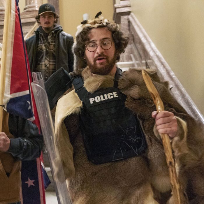 Capitol Riot 'Caveman' From Brooklyn Arrested After Outing Himself