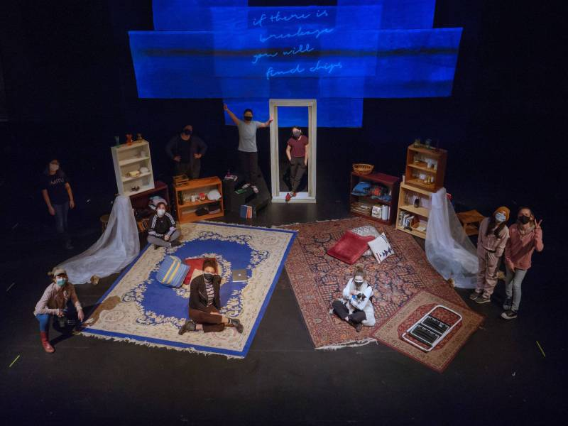 MainStage production 'if there is breakage you will find chips' is streaming as part of Irondale's 'On Women' festival. Photo:provided by Irondale.