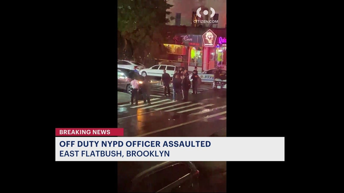 33-year-old off-duty officer assaulted, fires off gun in East Flatbush