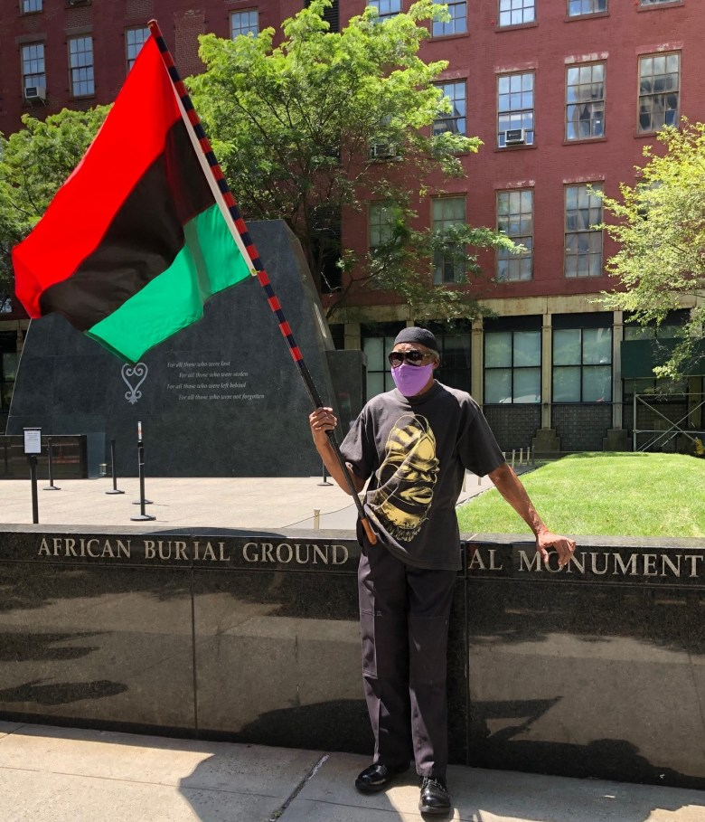 Lee Guest, reparations rally