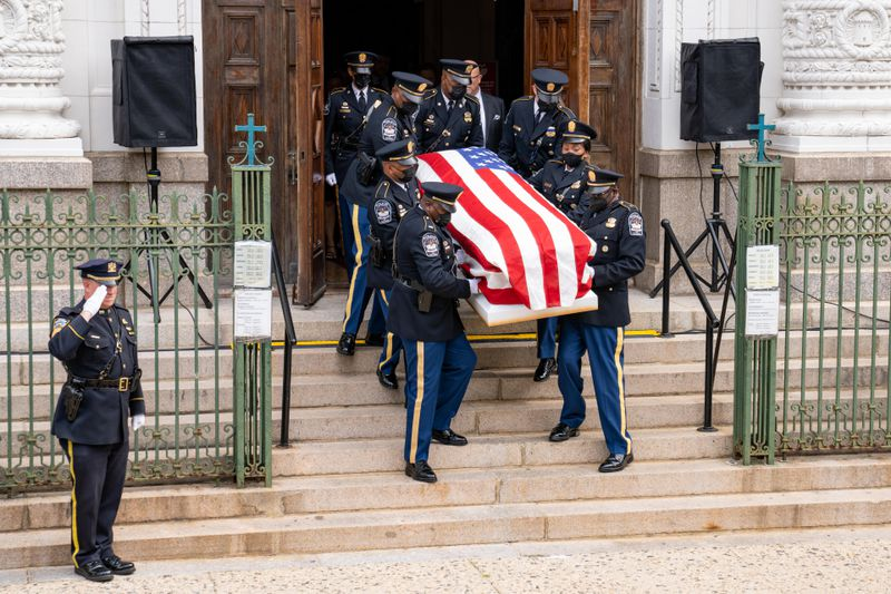 NYPD officer pays tribute to cop brother killed protecting the Pentagon: 'He fought until the end'