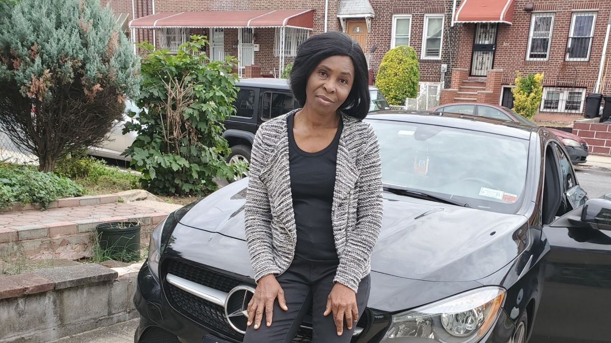 Brooklyn mother fatally shot by possible stray bullets outside home, son says