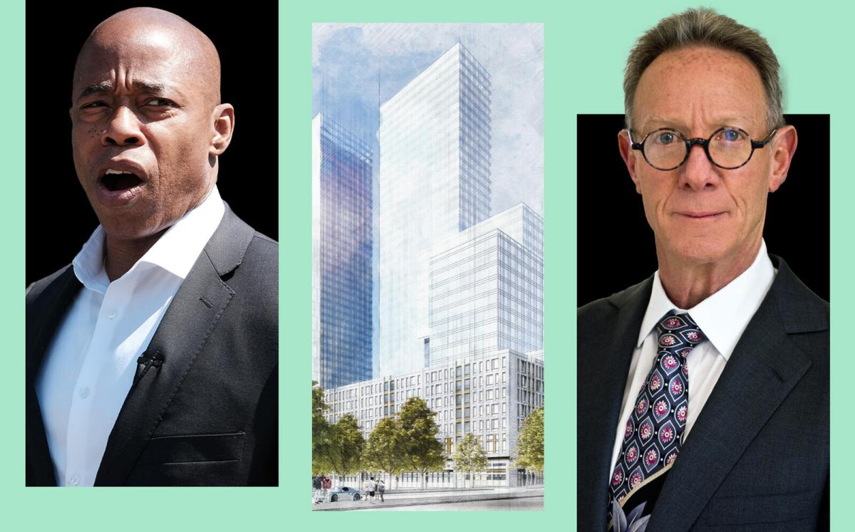 Eric Adams advises against Continuum's Crown Heights towers