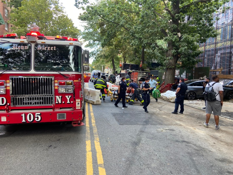 Reckless Driver Causes Serious Crash Near Clinton Hill Intersection Where a Baby Was Killed Last Week