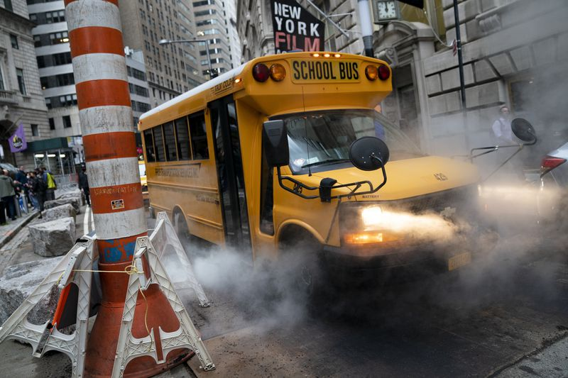 Two-thirds of NYC school buses have speeding, red light camera tickets — including thousands issued in school zones