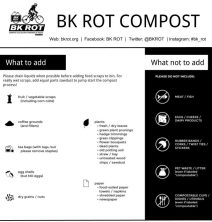 BK ROT What to Compost Guide