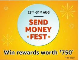 AMAZON SEND MONEY FEST