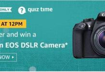 amazon quiz today 23 august 2019 answer