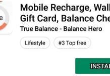 install true balance