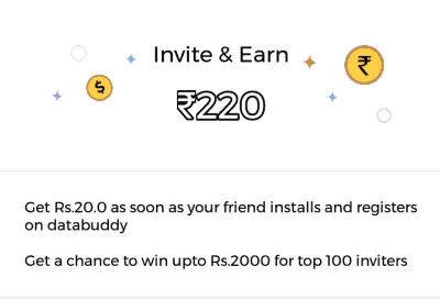 databuddy app refer earn