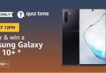 amazon today quiz answer 30 October 2019