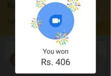 Google duo scratch card earn