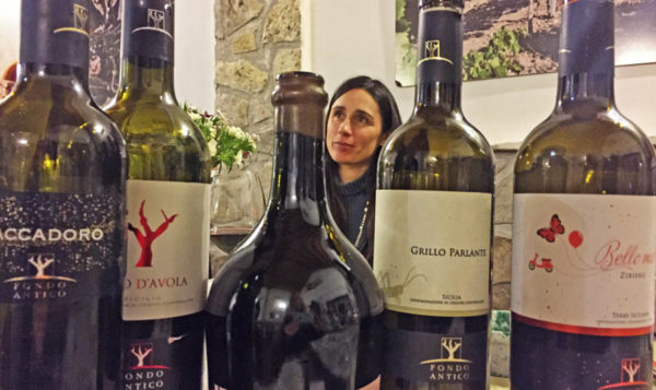 Grillo Parlangte and other wines from Fondo Antico