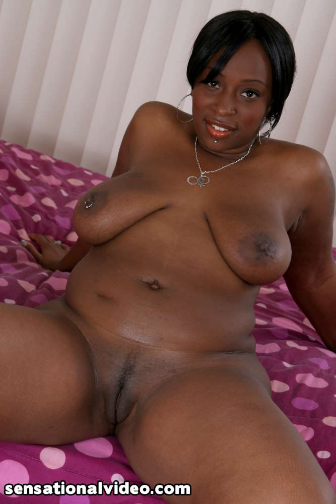 Black nude dark girl