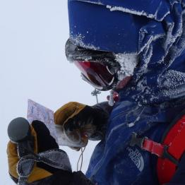 Navigation in winter conditions poses extra difficulties. Picture: Andy Townsend / Glenmore Lodge