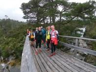 On the bridge over the Easan Dorcha.