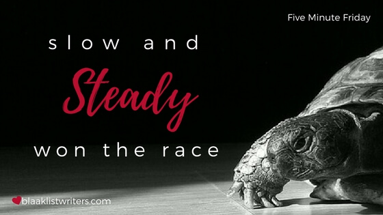Slow and Steady Won the Race – Don't quit!