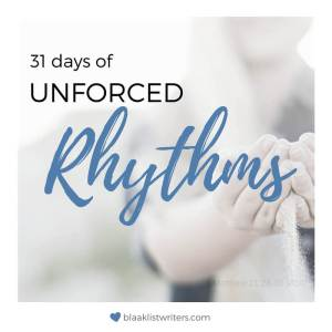 Button - 31 Days of Unforced Rhythms