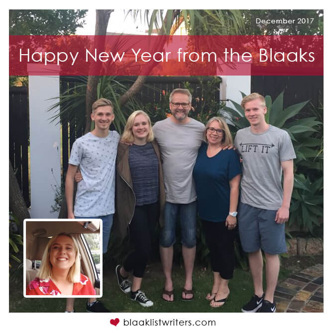 Happy New Year from the Blaaks!