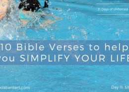 10 Bible Verses to Simplify Your Life