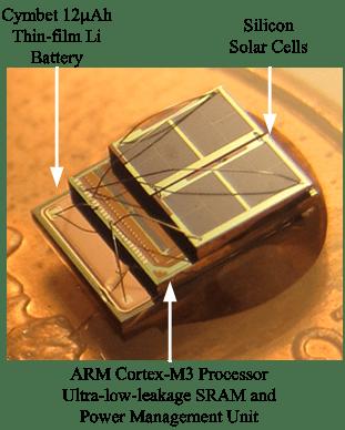 Perpetual Sensor System with Solar Harvesting