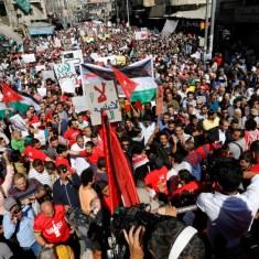 jordan israel gas deal protest