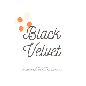 Logo Agence black velvet