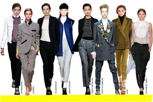 Pendulum Wo(Man)-An androgyne fashion influence in the 21st century (5/6)