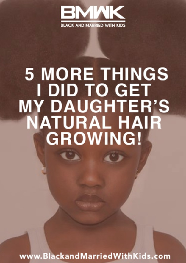 The Successful Experiment On My Daughter's Hair | More Things I Did to Get My Daughter's Natural Hair Growing