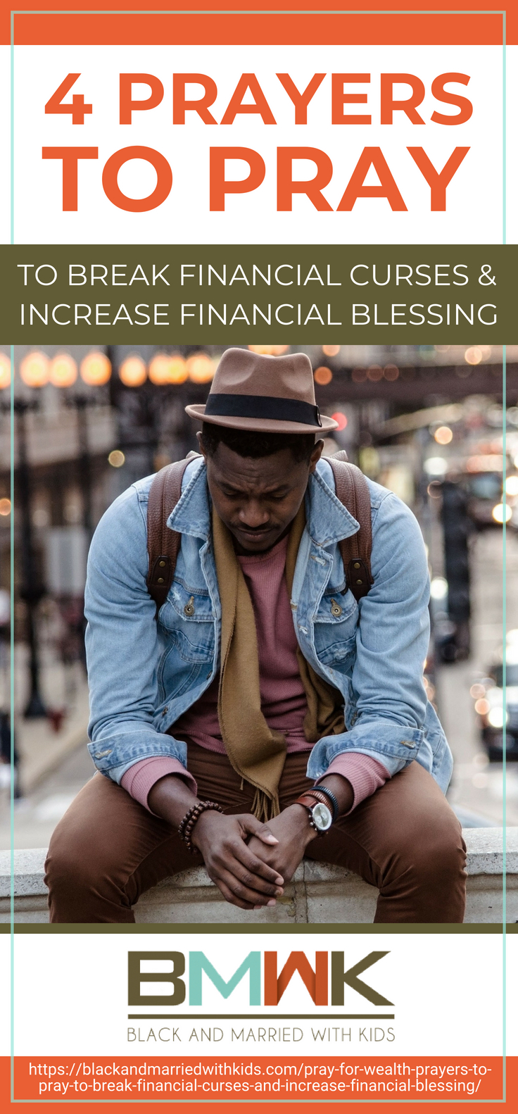 Pinterest Placard | 4 Prayers to Pray to Break Financial Curses and Increase Financial Blessing