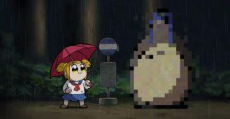Pop Team Epic Totoro
