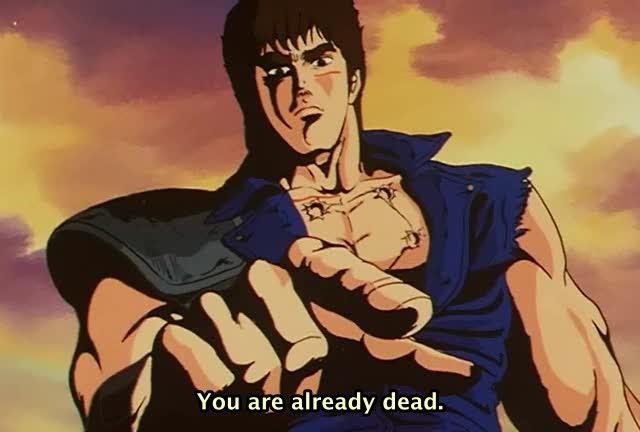 Fist of The North Star Header Omae Wa Mo Shindeiru