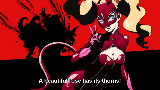 PERSONA5 A Beautiful Rose Has Its Thorns