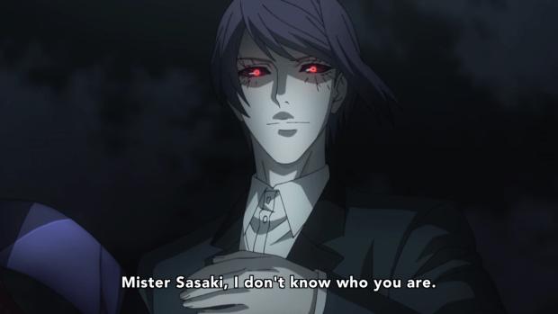 Tokyo Ghoul re Mr. Sasaki