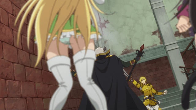 How Not to Summon a Demon Lord Unnecesary Out of Focus Panty Shot