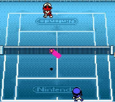 Mario Tennis GBC Court