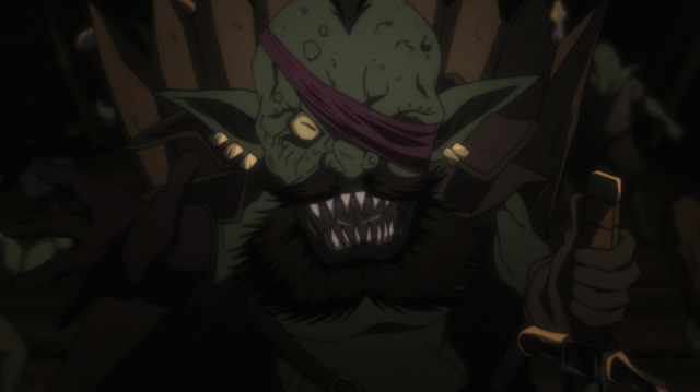 Goblin Slayer LOOK AT HIS WITTLE BEARD!