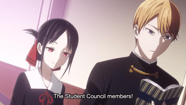 Kaguya-Sama The Student Council