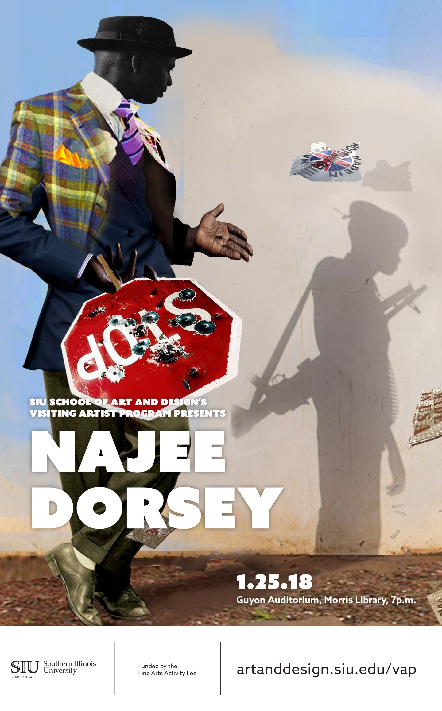 Visual Artist & CEO of Black Art in America Najee Dorsey, to speak at Southern Illinois University