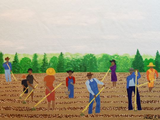 Veteran, folk artist depicts Louisiana life in Black History Month exhibition