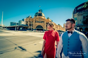 Flinders_street_station_melbourne_pre_wedding_photo_in_red_quipao_by_Black_Avenue_Productions