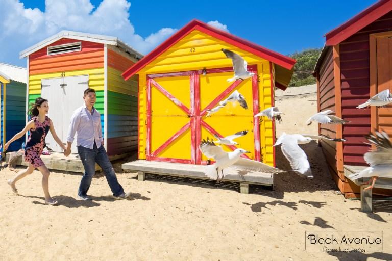 墨爾本婚紗攝影 Brighton Beach