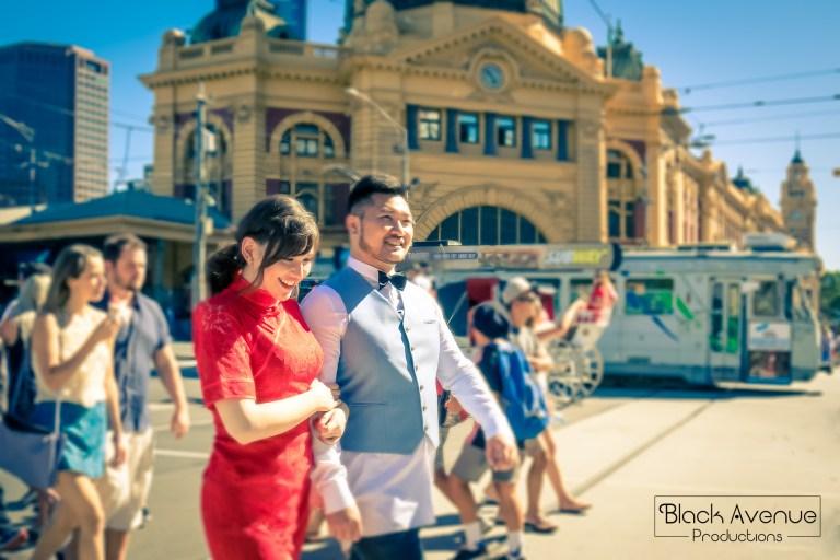 弗林德斯火車站 Flinders Street Station
