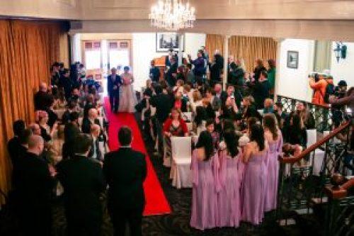 Australian wedding ceremony by 2 Melbourne wedding photographers