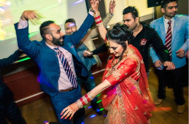 Bollywood wedding party dance floor moment in Glen Waverley VIC melbourne